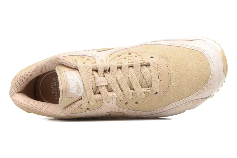 Baskets Nike Wmns Air Max 90 Prm Beige vue gauche