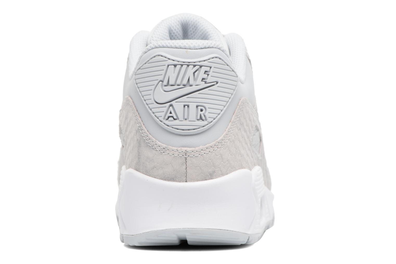 Baskets Nike Wmns Air Max 90 Prm Bleu vue droite