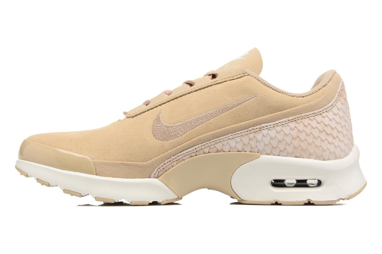 Baskets Nike W Nike Air Max Jewell Prm Txt Beige vue face