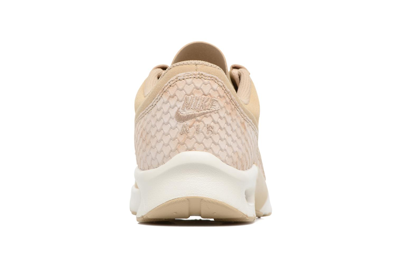 Baskets Nike W Nike Air Max Jewell Prm Txt Beige vue droite