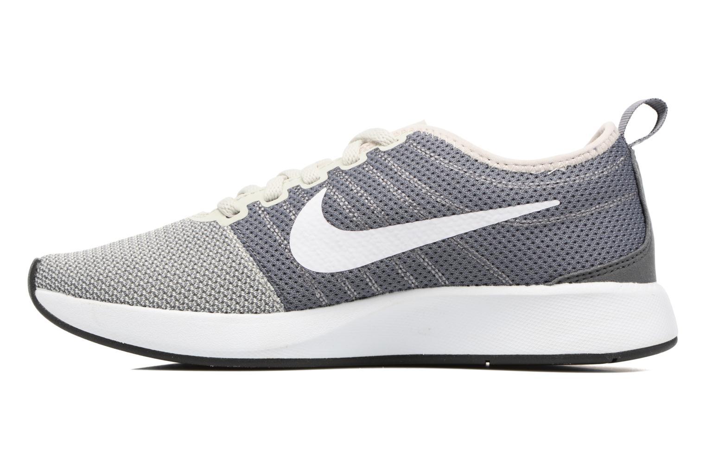 Chaussures de sport Nike W Nike Dualtone Racer Gris vue face