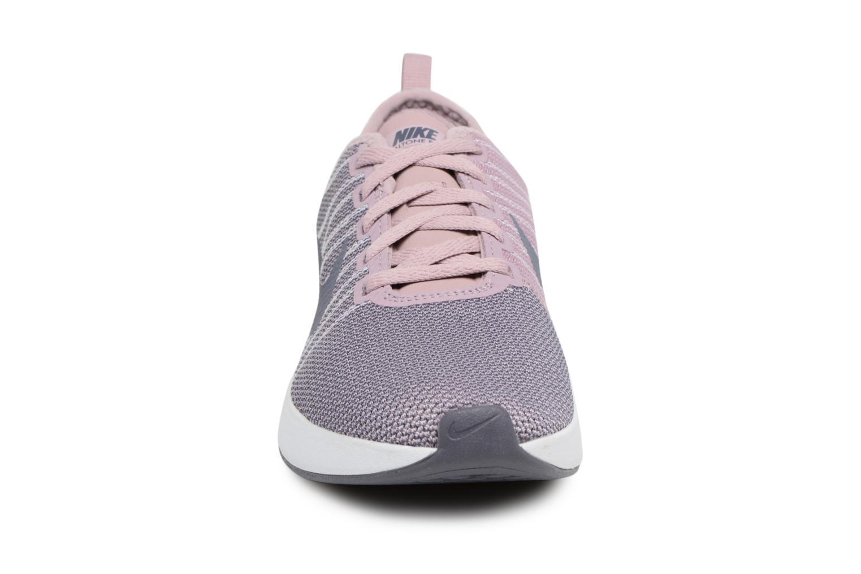Sportschuhe Nike W Nike Dualtone Racer rosa schuhe getragen