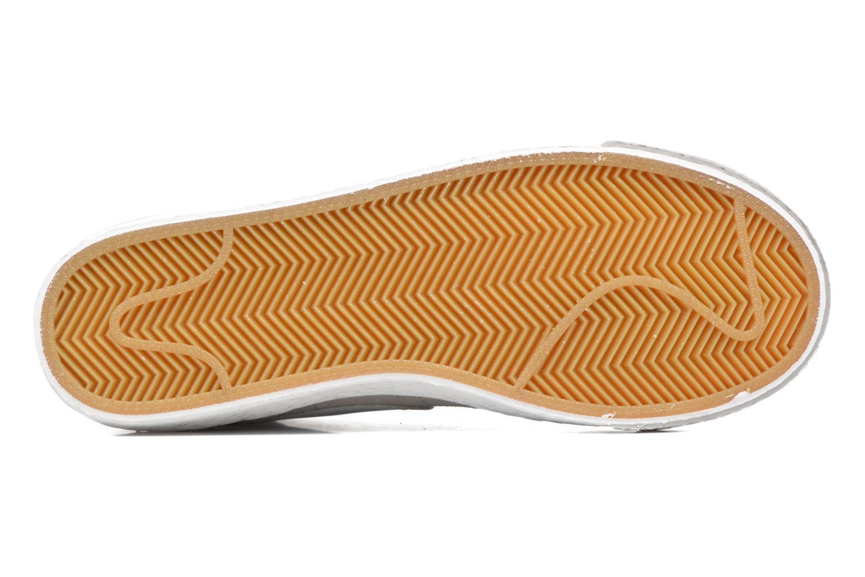 Deportivas Nike Wmns Blazer Mid Vntg Suede Gris vista de arriba