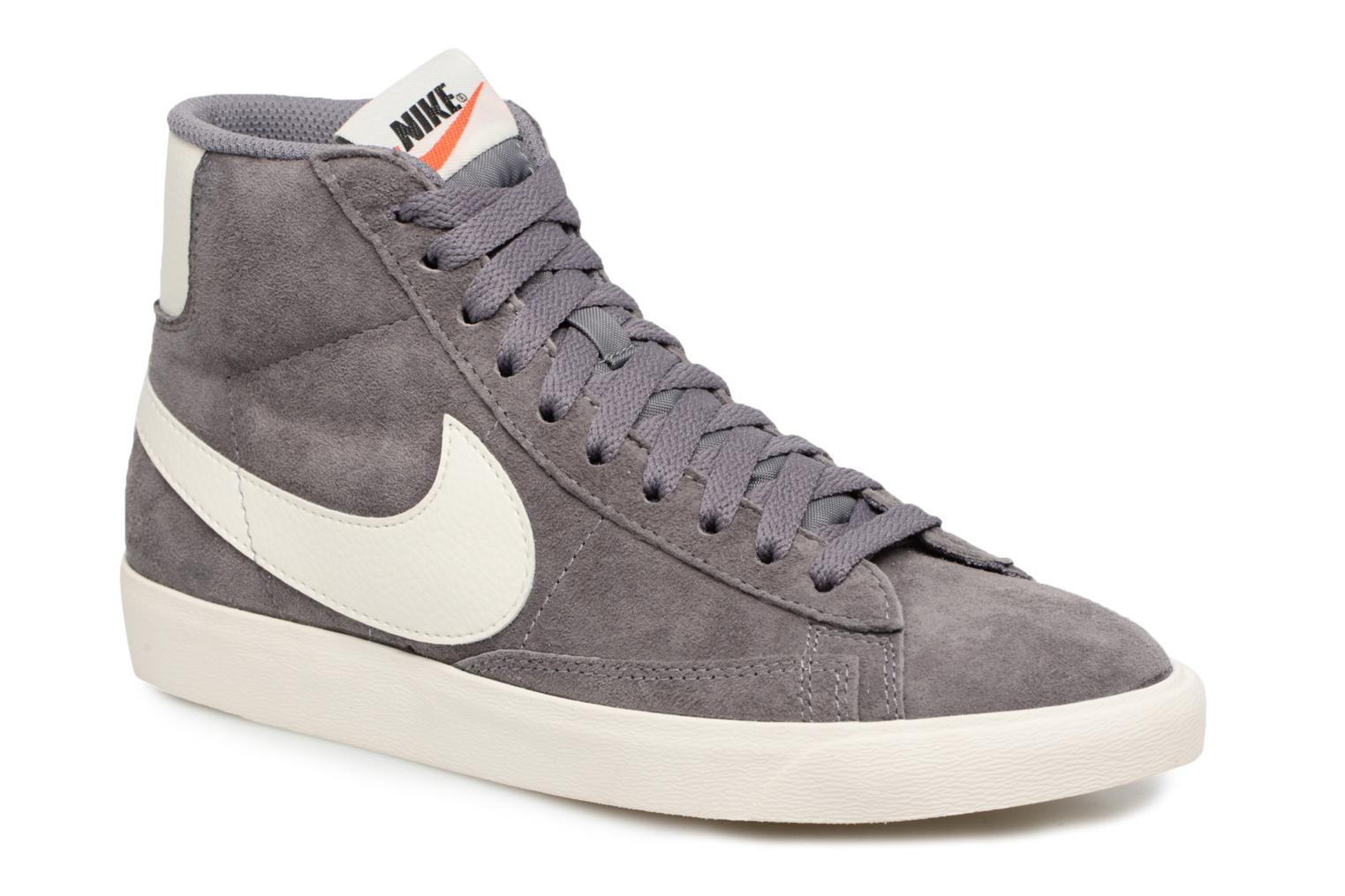 competitive price 7dbc4 a45a6 ... reduced sneaker nike wmns blazer mid vntg suede grau detaillierte  ansicht modell 1d2e5 aa2b3