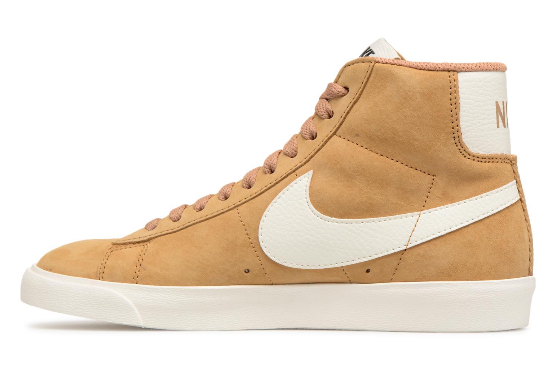 Sneaker Nike Wmns Blazer Mid Vntg Suede braun ansicht von vorne