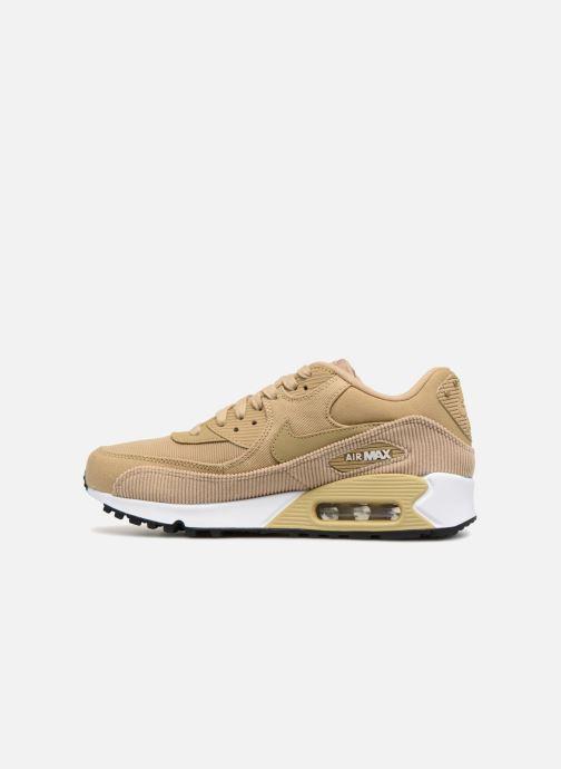 Sneakers Nike Wmns Air Max 90 Lea Beige voorkant