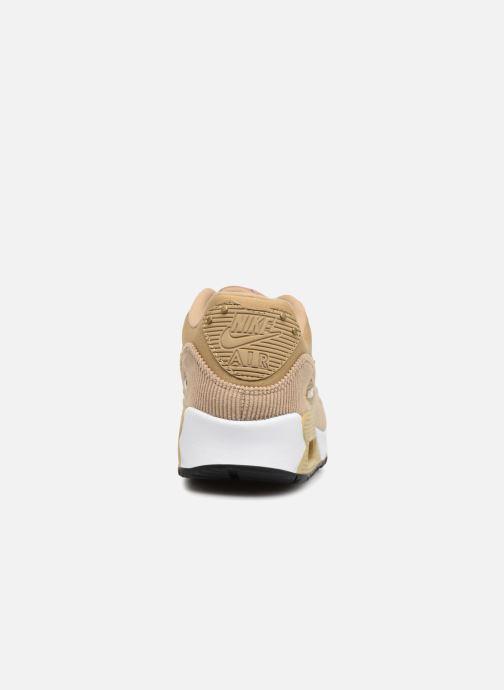 Sneakers Nike Wmns Air Max 90 Lea Beige rechts