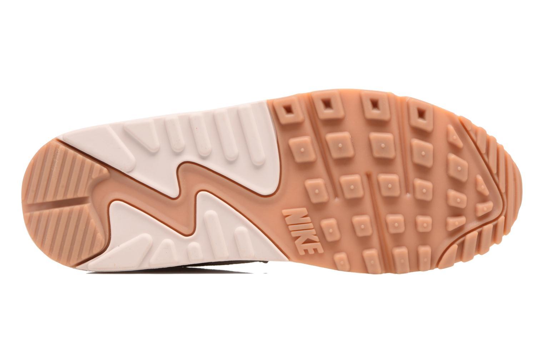 Baskets Nike Wmns Air Max 90 Lea Rose vue haut