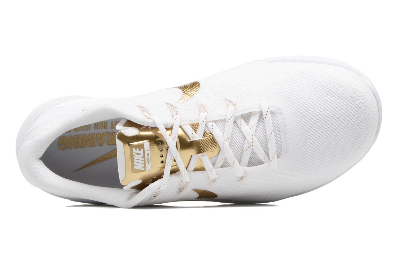 Zapatillas de deporte Nike Wmns Nike Metcon 3 Amp Blanco vista lateral izquierda