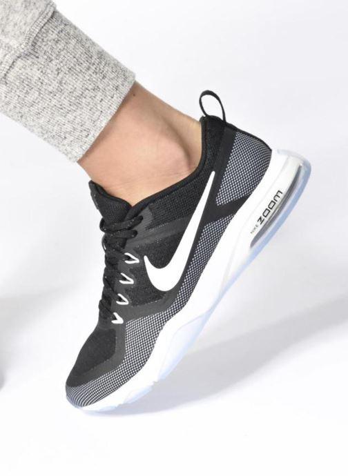 Zapatillas de deporte Nike Wmns Nike Air Zoom Fitness Negro vista de abajo