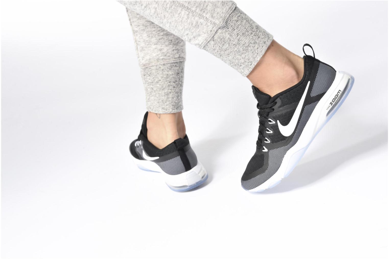 Sportssko Nike Wmns Nike Air Zoom Fitness Grå se forneden