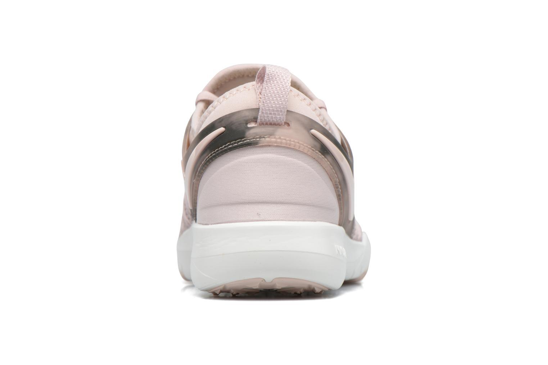 Chaussures de sport Nike Wmns Nike Free Tr 7 Amp Rose vue droite