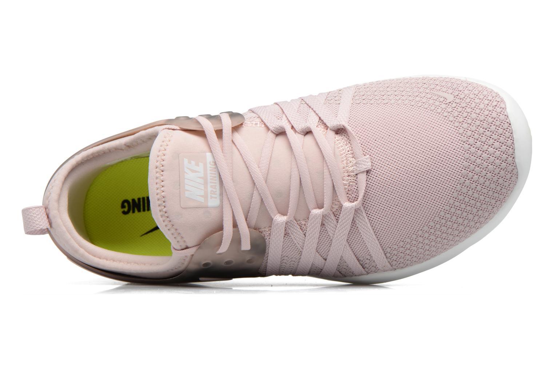 Chaussures de sport Nike Wmns Nike Free Tr 7 Amp Rose vue gauche