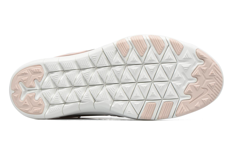 Chaussures de sport Nike Wmns Nike Free Tr 7 Amp Rose vue haut