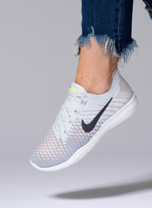 Chaussures de sport Nike Wmns Nike Free Tr Flyknit 2 Noir vue bas / vue portée sac