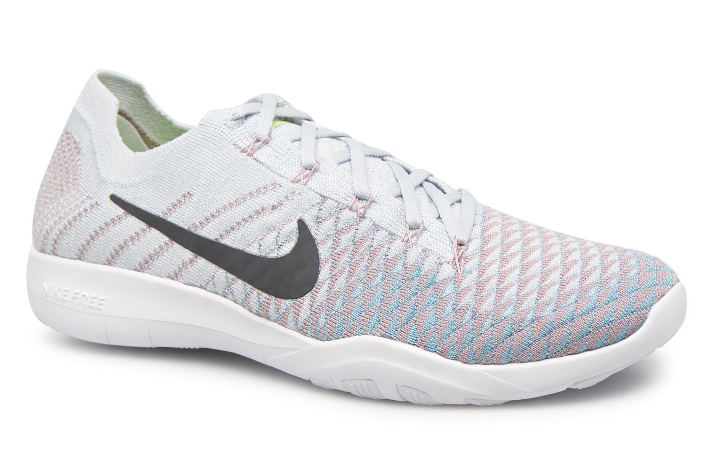 check out f9f81 60a8a Sportskor Nike Wmns Nike Free Tr Flyknit 2 Silver detaljerad bild på paret