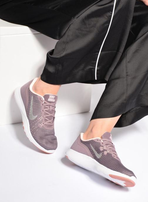 005e13f7f63 Sport shoes Nike W Nike Flex Trainer 7 Bionic Purple view from underneath    model view