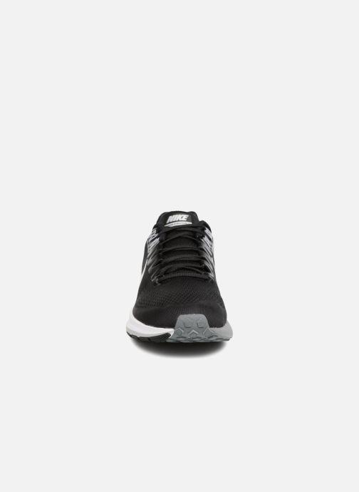 Sportschuhe Nike Nike Air Zoom Structure 21 schwarz schuhe getragen