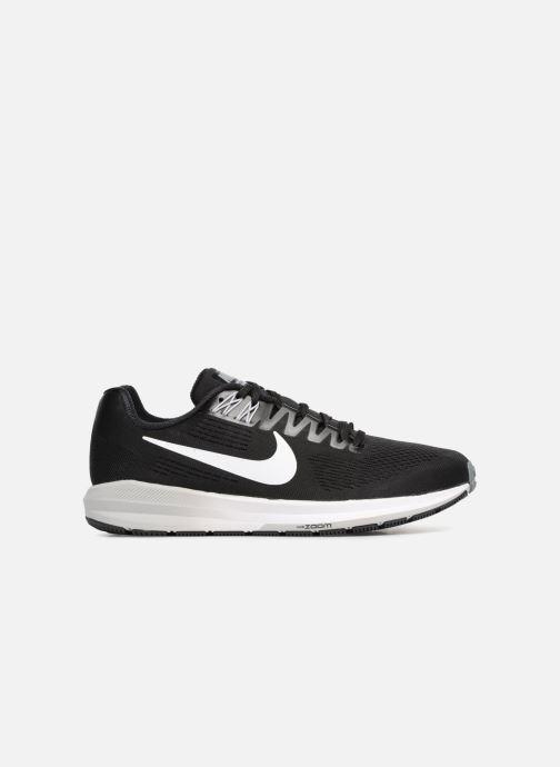 Sportschuhe Nike Nike Air Zoom Structure 21 schwarz ansicht von hinten