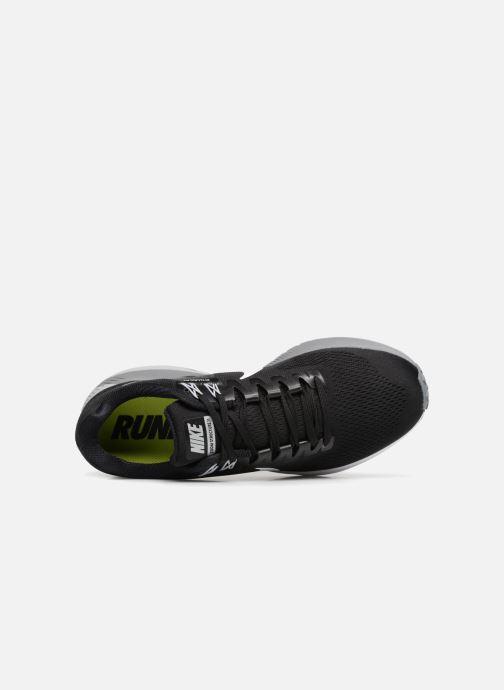 Sportschuhe Nike Nike Air Zoom Structure 21 schwarz ansicht von links