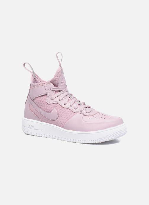 Nike W Air Force 1 Ultraforce Mid (Violet) - Baskets chez Sarenza ...