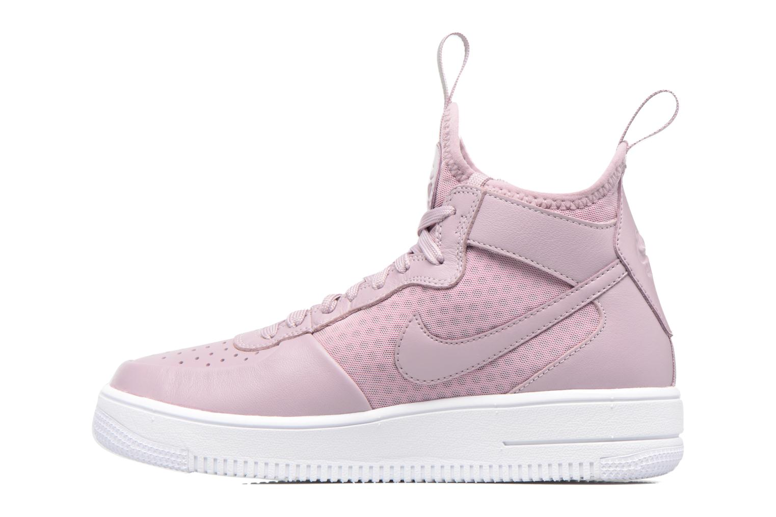 Baskets Nike W Air Force 1 Ultraforce Mid Violet vue face