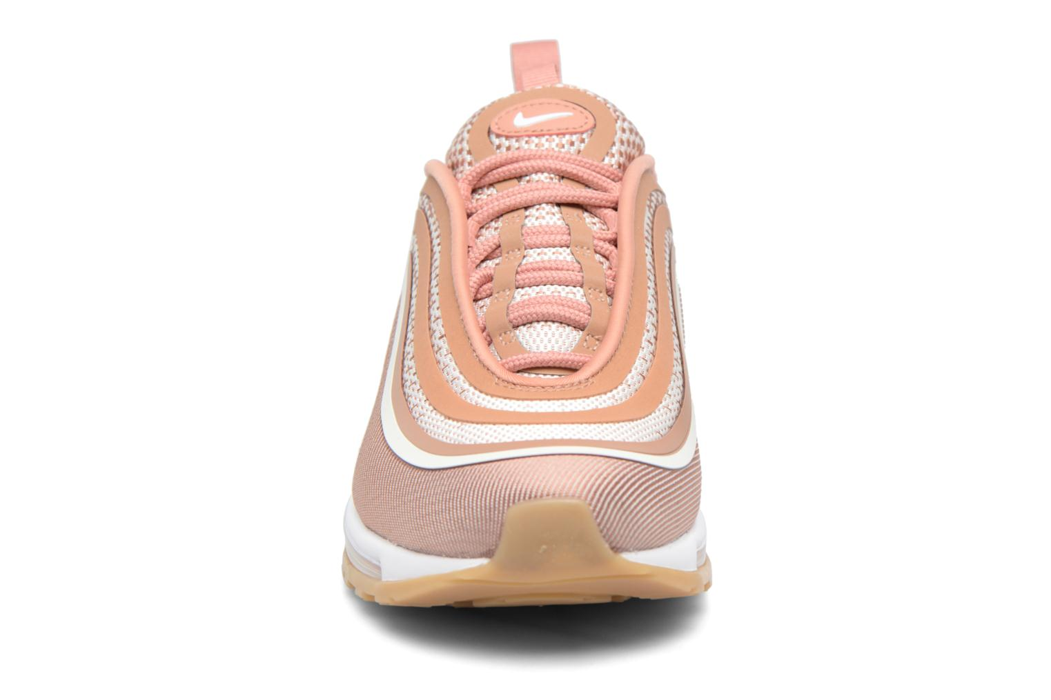 Baskets Nike W Air Max 97 Ul '17 Rose vue portées chaussures