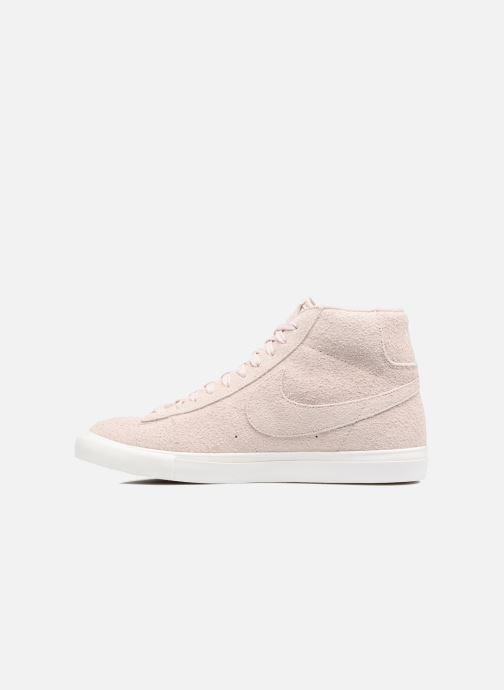 Sneaker Nike Blazer Mid AH17 beige ansicht von vorne