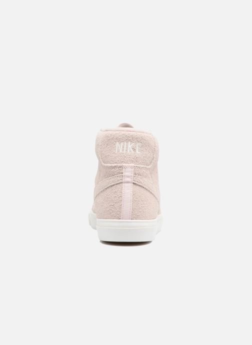 Trainers Nike Blazer Mid AH17 Beige view from the right