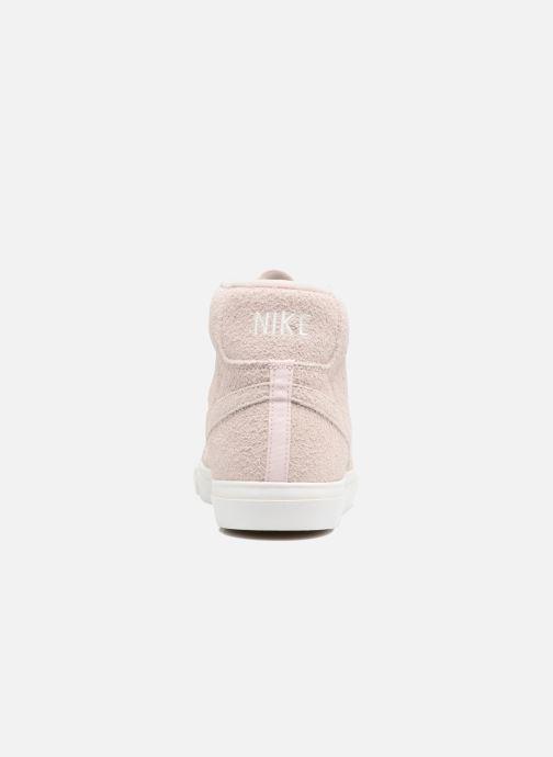 Baskets Nike Blazer Mid AH17 Beige vue droite