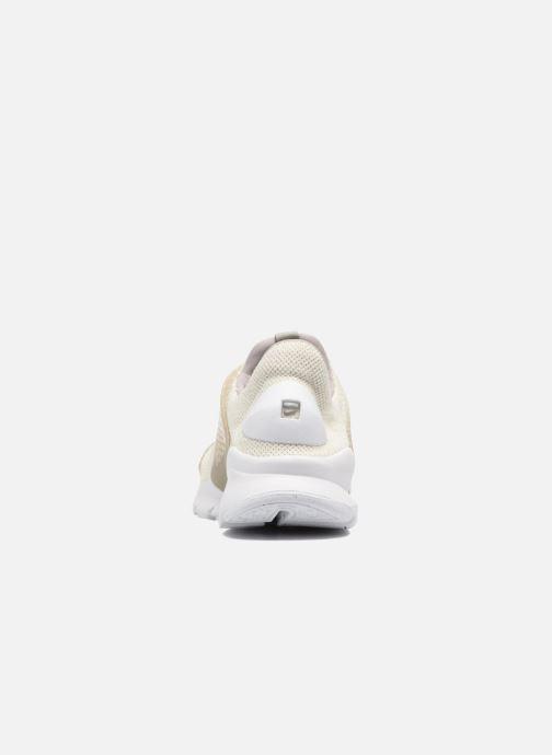 Sneakers Nike Nike Sock Dart Se Beige Bild från höger sidan