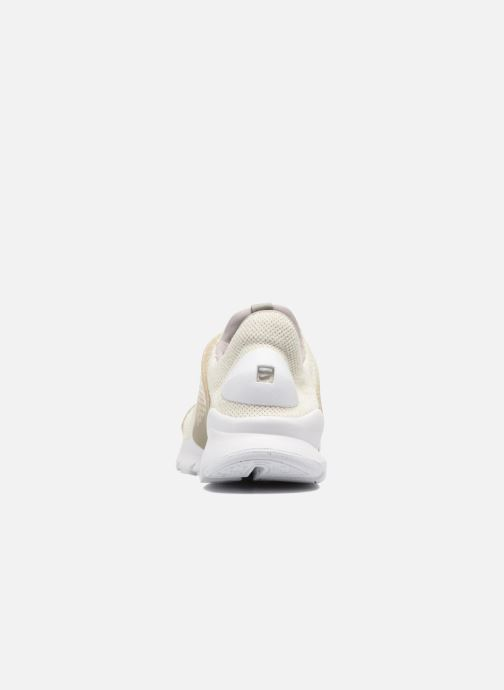 Trainers Nike Nike Sock Dart Se Beige view from the right