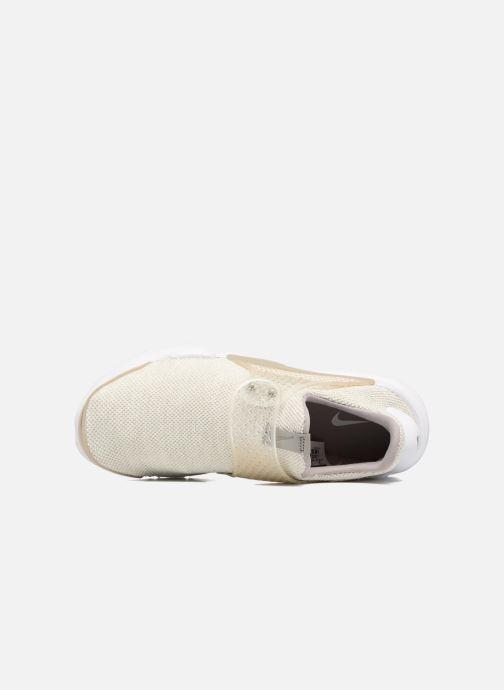 Sneakers Nike Nike Sock Dart Se Beige bild från vänster sidan