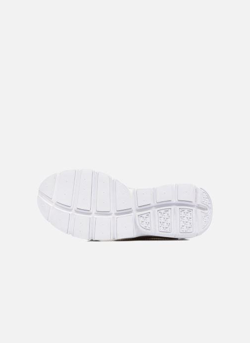Baskets Nike Nike Sock Dart Se Beige vue haut