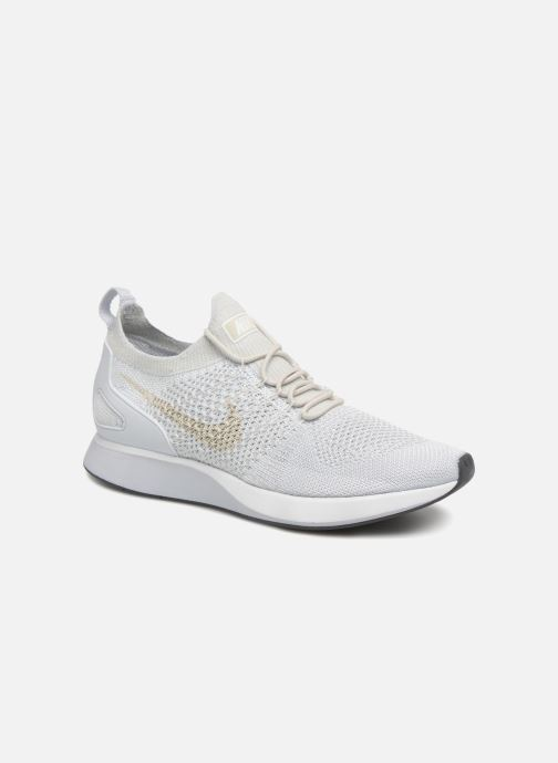 purchase cheap 517cb 37e28 Baskets Nike Air Zoom Mariah Flyknit Racer Blanc vue détail paire