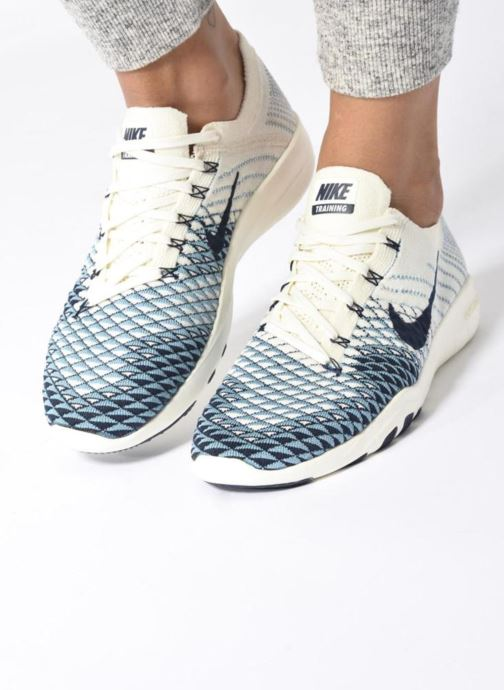 Zapatillas de deporte Nike Wmns Nike Free Tr Fk 2 Indigo Multicolor vista de abajo