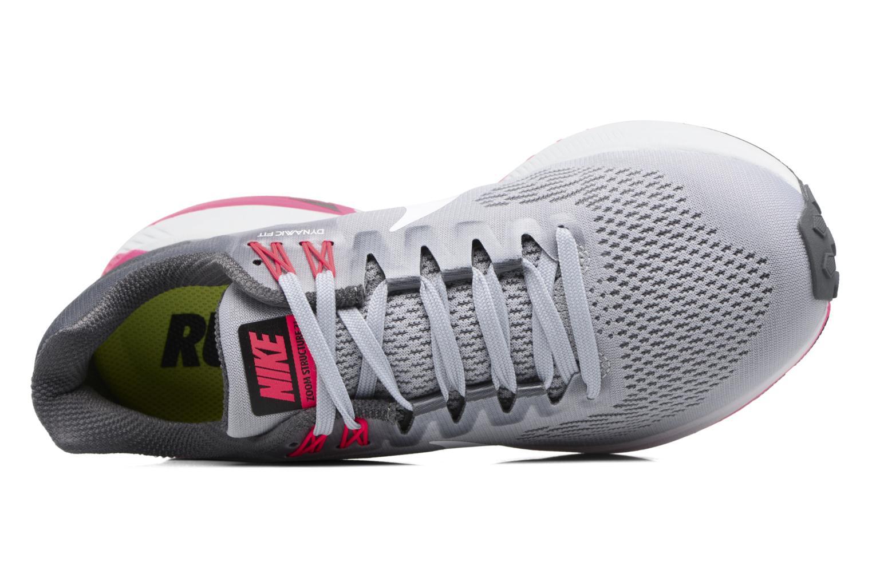 Chaussures de sport Nike W Nike Air Zoom Structure 21 Gris vue gauche