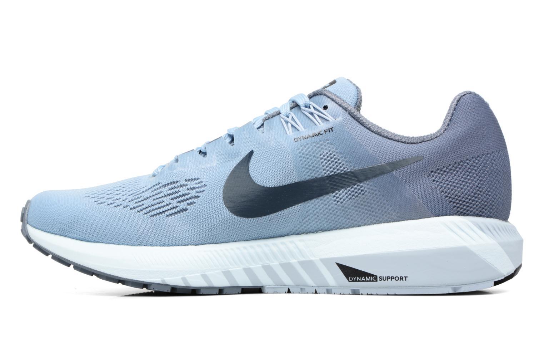 Sportschuhe Nike W Nike Air Zoom Structure 21 blau ansicht von vorne