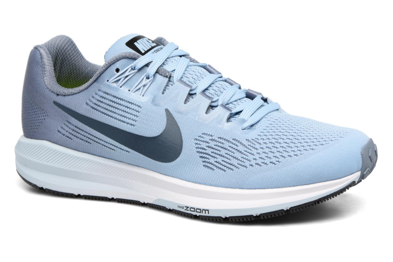 Sportschuhe Nike W Nike Air Zoom Structure 21 blau detaillierte ansicht/modell