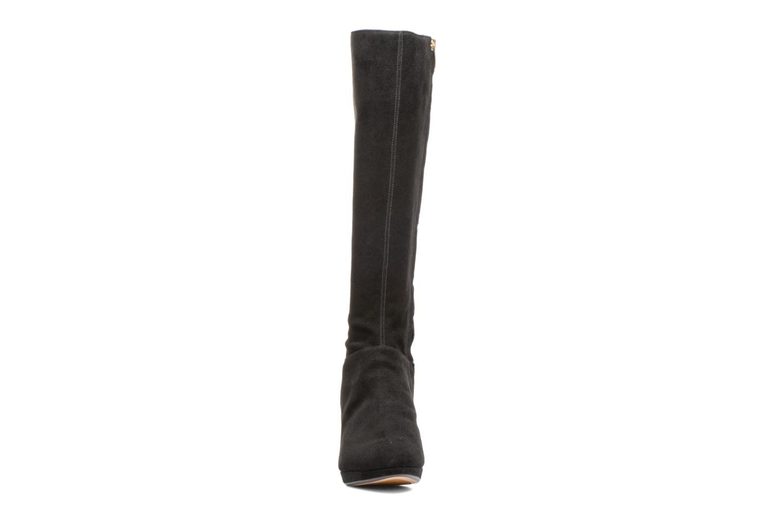 Bottes Clarks Kelda Pearl Noir vue portées chaussures