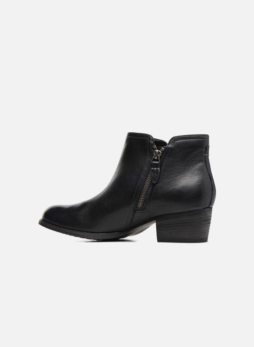 Bottines et boots Clarks Maypearl Ramie Noir vue face