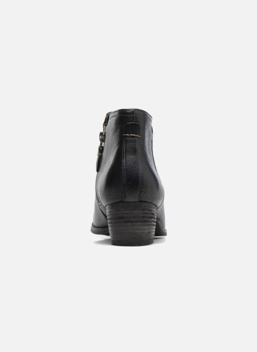 Bottines et boots Clarks Maypearl Ramie Noir vue droite