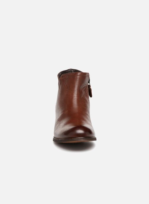 Ankle boots Clarks Maypearl Ramie Brown model view