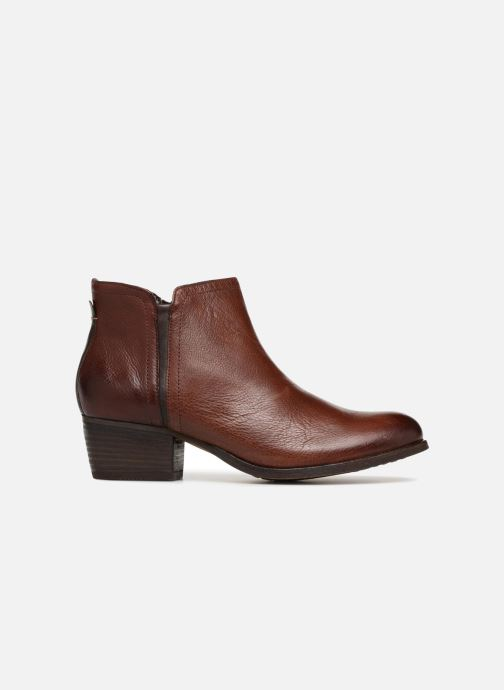 Ankle boots Clarks Maypearl Ramie Brown back view