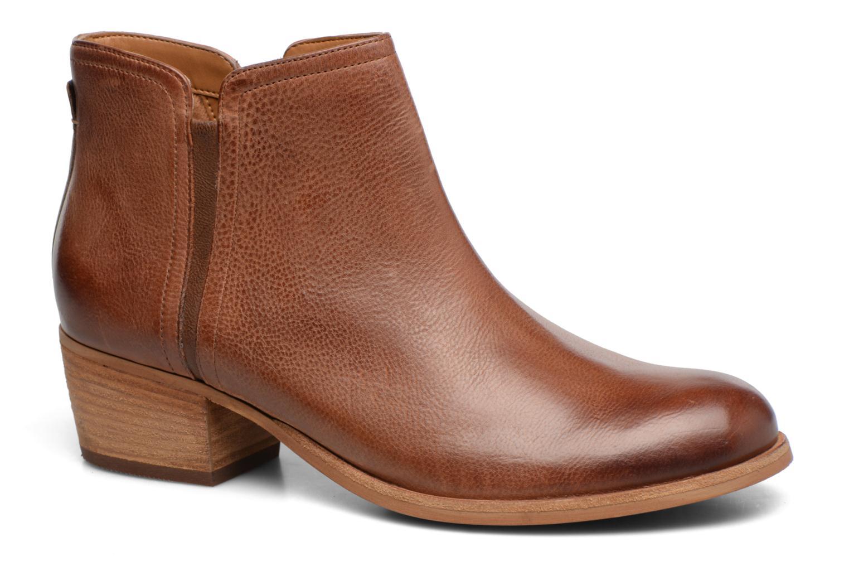 Bottines et boots Clarks Maypearl Ramie Marron vue détail/paire