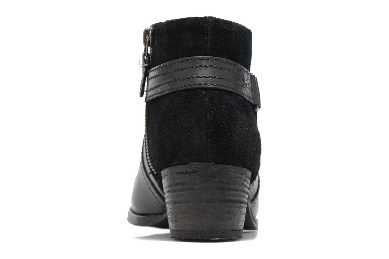 Bottines et boots Clarks Maypearl Lilac Noir vue droite