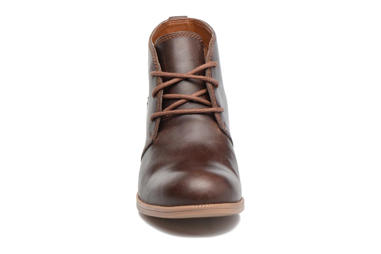 Chaussures à lacets Clarks Maypearl Flora Marron vue portées chaussures