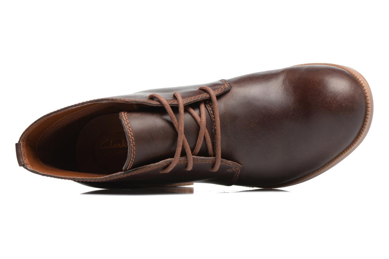 Chaussures à lacets Clarks Maypearl Flora Marron vue gauche