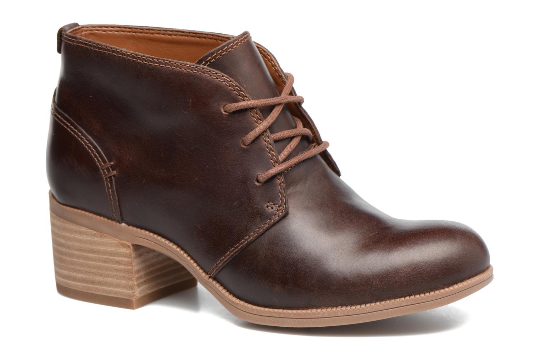 Chaussures à lacets Clarks Maypearl Flora Marron vue détail/paire