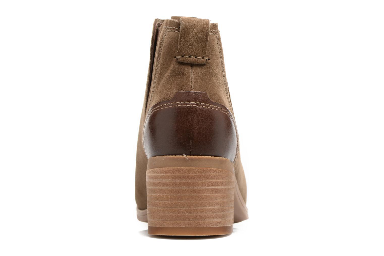 Bottines et boots Clarks Maypearl Daisy Marron vue droite